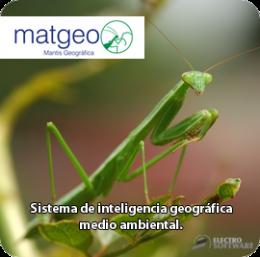 imagen de Matgeo - sistema geográfico medio ambiental - Electro Software