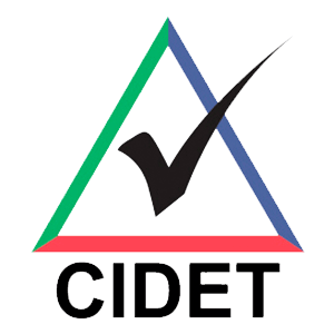 logo de CIDET reconocimiento a electroSoftware bucaramanga colombia