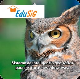 Imagen de Edusig - Sistemas de inteligencia geográfica - ElectroSoftware