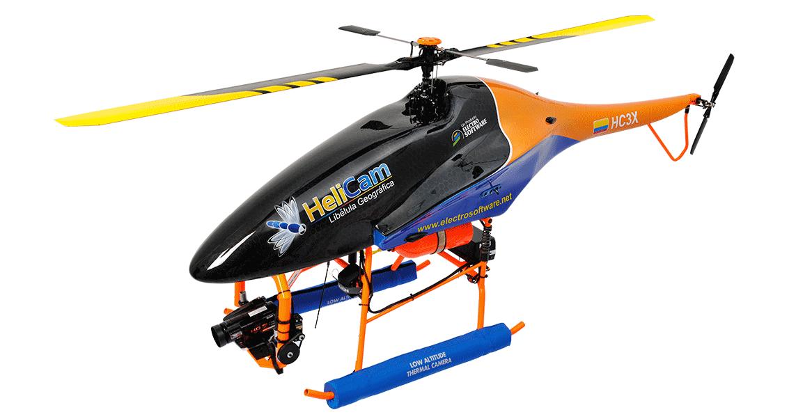 Imagen de Helicóptero Helicam ElectroSoftware Bucaramanga sig