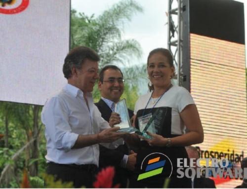 Presidente Santos premia tecnología santandereana