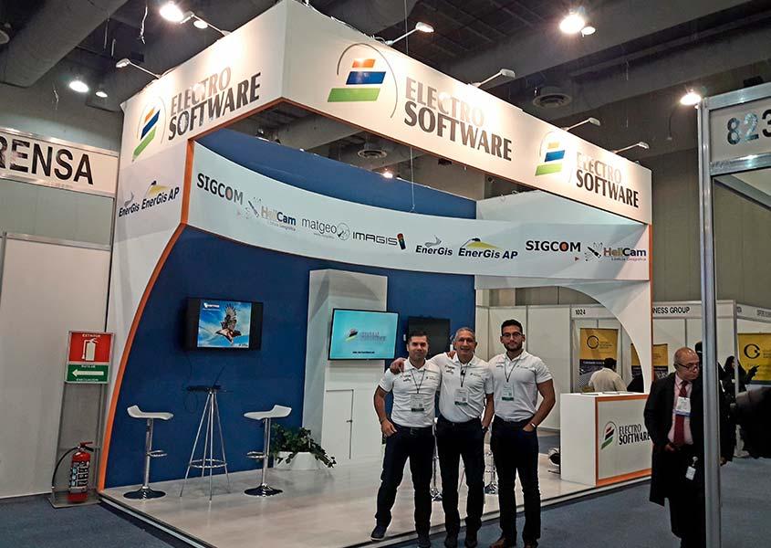 Electrosoftware visita Energy México
